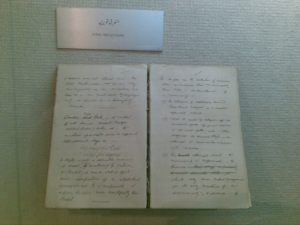 English Handwriting of Allama Iqbal