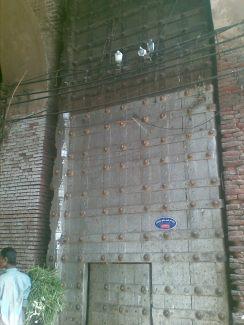 Gigantic Gate of Lahori Darwaza